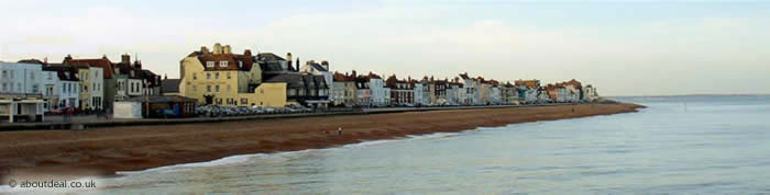Deal seafront